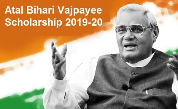 Atal Bihari Vajpayee Scholarship
