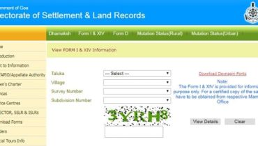 Goa Online Land Records
