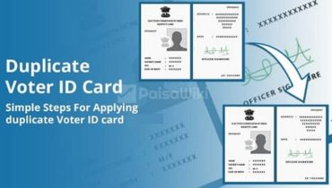 Duplicate Voter Id Card