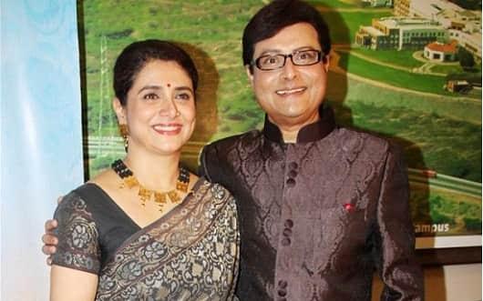 Sachin and Supriya Pilgaonkar