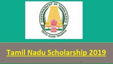 Tamil Nadu TN Scholarship