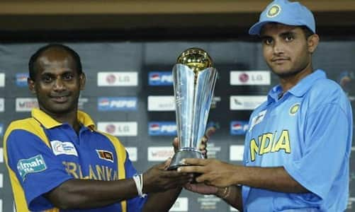Joint Winners, India with hosts Sri Lanka