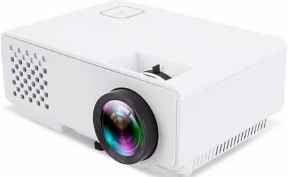 Punnkk P6 Mini LED Video Projector