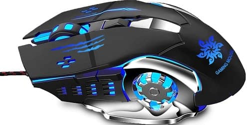 Zinq Technologies 1070, Wired Gaming Mouse