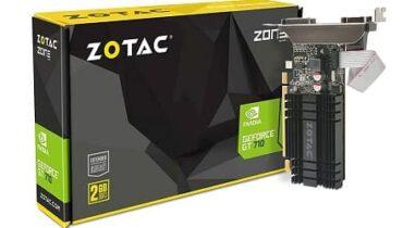 Zotac GT 710 2GB DDR3, Graphics Card