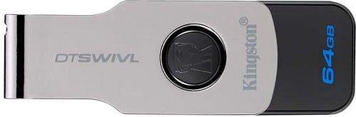 Kingston DataTraveler Swivl 64GB USB 3.0 Pen Drive