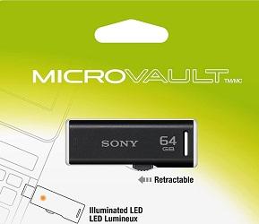 Sony Micro Vault R-Series 64 GB USB Flash Drive