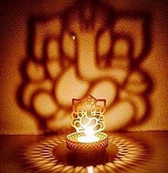 Heaven Decor Ganesh Ji Tealight Candle Holder
