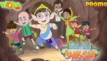 Gadget Guru Ganesha Cartoon