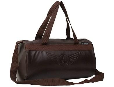 Auxter Leatherite gym bag