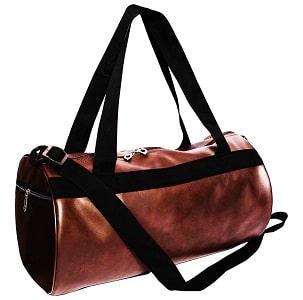 Priish Leather Gym Bag