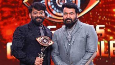 Manikuttan Bigg Boss malayalam Season 3 Winner