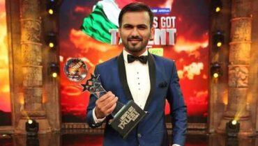 javed khan magician IGT 8 Winner