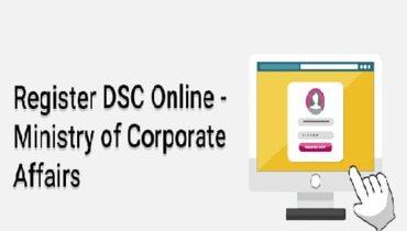 register DSC on MCA